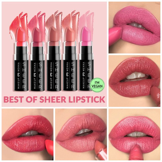 Best of Sheer Lipsticks